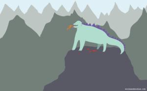 happy dragon digital illustration