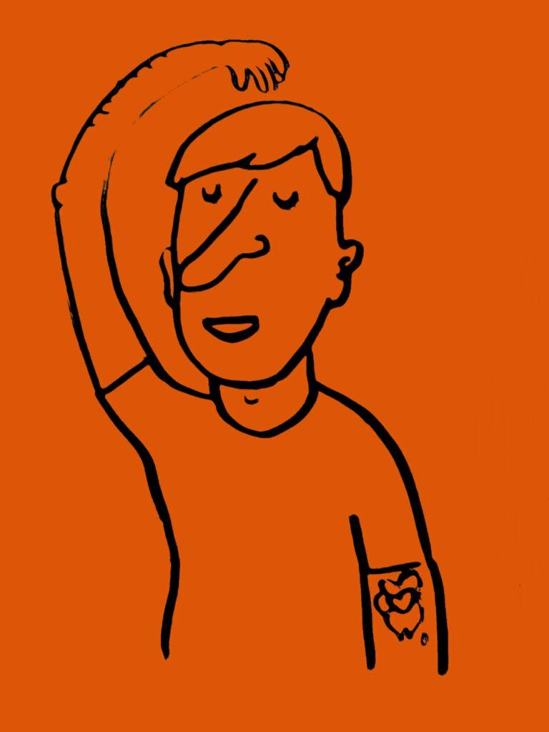 snapface illustration doodle