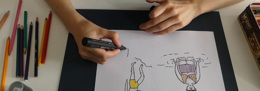 tegne illustration vejrupjo.dk
