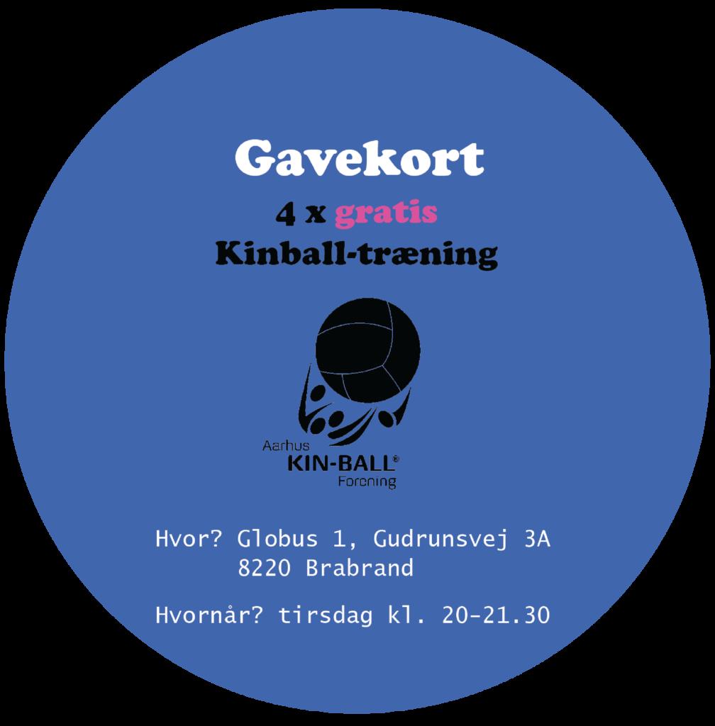 gavekort grafisk design kin-ball træning - vejrupjo.dk